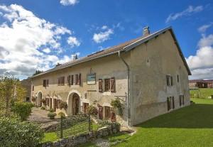 Chambres d'hôtes dans la Région des Lacs du Haut Jura
